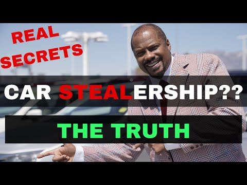 How Car Dealerships Rip You Off (REAL Truth from an Actual DEALER)