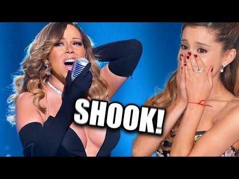 Famous People REACTING To Mariah Carey's VOCALS!
