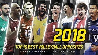 TOP 10 Best Volleyball Opposites   VNL - 2018