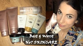 best worst no7 skincare products   review