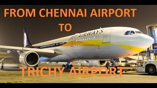 FLYING FROM CHENNAI AIRPORT TO TRICHY VLOG_13