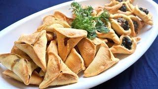 فيديو..وصفات رمضانية : فطائر السبانخ و لا اروع  معجنات و مملحات  Ramadan Table: Spinach Hand Pies Fatayer