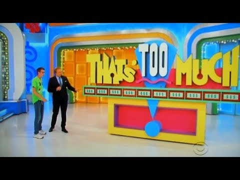 The Price is Right - That's Too Much - 11/16/2017