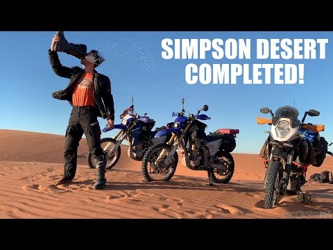 SHOEY ON TOP OF BIG RED! - Simpson Desert Unsupported WR250R Adventure! Part 7!