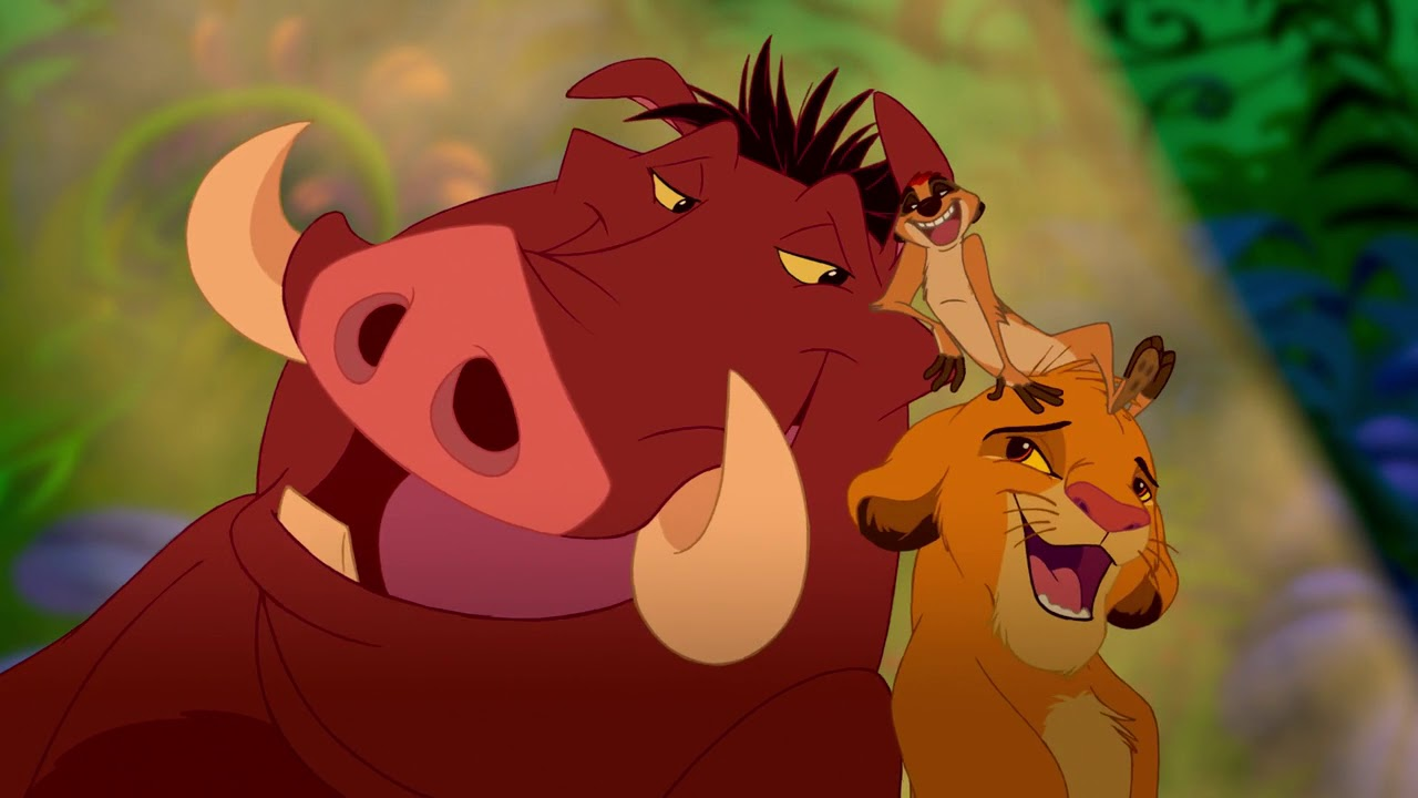 Image result for the lion king 1994 hakuna matata