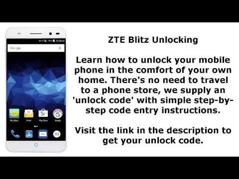 Download Unlock Zte Blitz By Sim Network Unlock Pin MP3, MKV