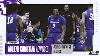 Texas vs. Abilene Christian - First Round NCAA tournament extended highlights