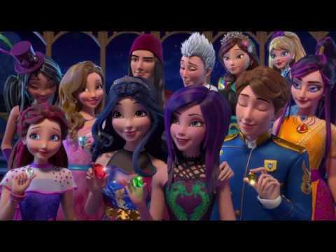 Наследники - Недобрый мир - Сезон 2 серия 18 - Вместе мы становимся лучше | Disney мультфильм