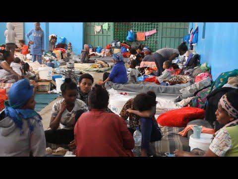 Journal de l'Afrique - Camps de détention de migrants en Libye : des conditions déplorables