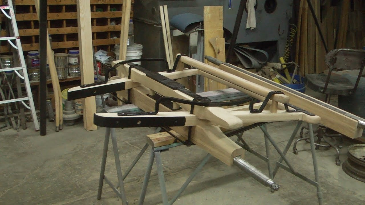 Superb Sheep Wagon Undercarriage, From Scratch, Front Axle, #2