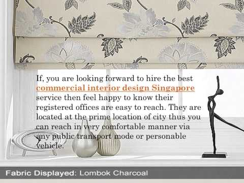 Singapore office design service perfectly manages atmosphere at a commercial space
