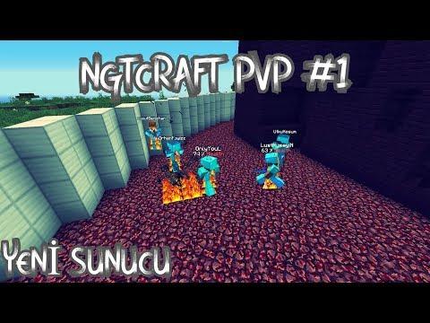 Minecraft Faction Server # NGTCRAFT PVP -1 # İLK PVP'LER