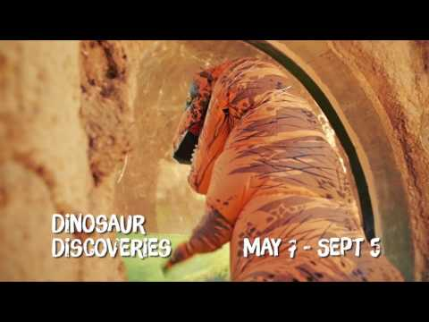 Dinosaur Discoveries at The Virginia Living Museum | Newport News, VA | The Vacation Channel