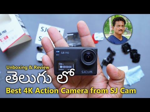 Best 4K Action Camera SJCam SJ8 Pro Unboxing In Telugu...
