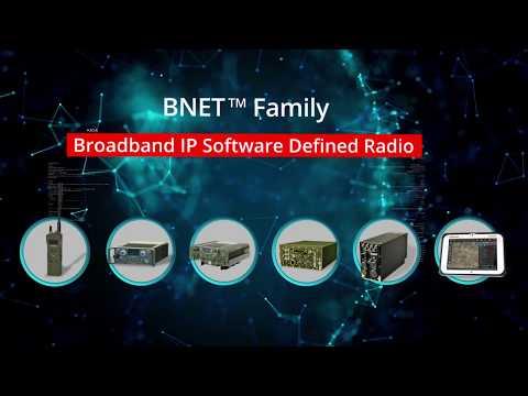 BNET Broadband IP Software Defined Radio