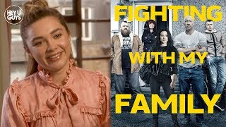 Florence Pugh on adopting Paige's attitude for WWE true life tale Fighting with My Family