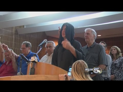 City Council Meeting Gets Heated After Satanic Temple Representative Gives Invocation