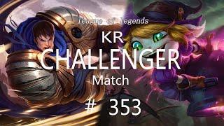 Korea Challenger Match # 353/L…