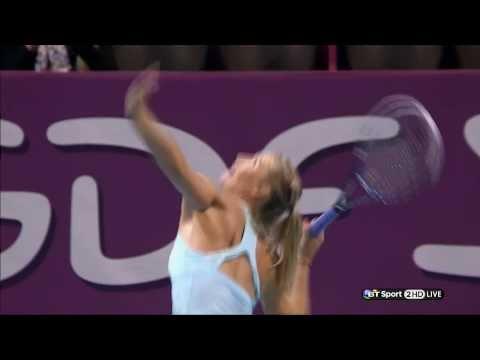 Maria Sharapova Legs & Upskirts WTA HD 31 01 14