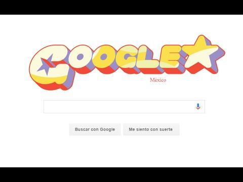 Cambiar la pagina de google con letras de Steven universe
