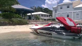 Miami to Bimini Bahamas on Jet Skis & Jet Boats - Part II - Tampa SeaDoo Crew