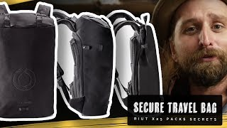 RIUT BAG X25 TRAVEL SECURITY BACKPACK!