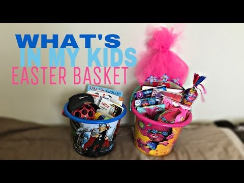 Whats in my kids easter basket 4 month old and 3 year old youtube whats in my kids easter basket 4 month old and 3 year old negle Image collections