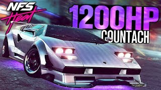 Need for Speed HEAT - 1200HP Lamborghini Countach CUSTOMIZATION!