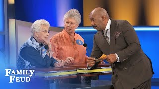 Lacy conversations! | Family Feud