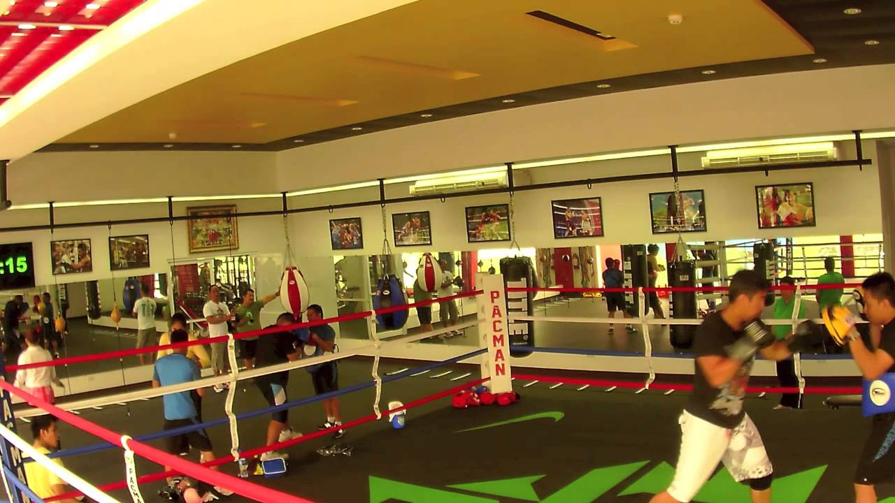 The new Manny Pacquiao Wild Card Gym in Gensan - YouTube