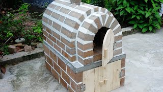18.10 How to Build Wood Fired Brick Pizza, barbecue, cake for your home