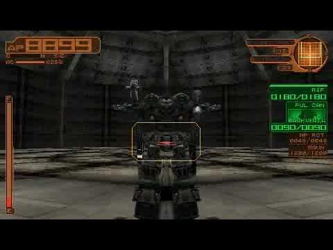 [ACSL] Armored Core: Silent Line Portable: Sacrifical Arena Kill?
