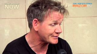 Gordon Ramsay confident of matching Singapore's hawkers