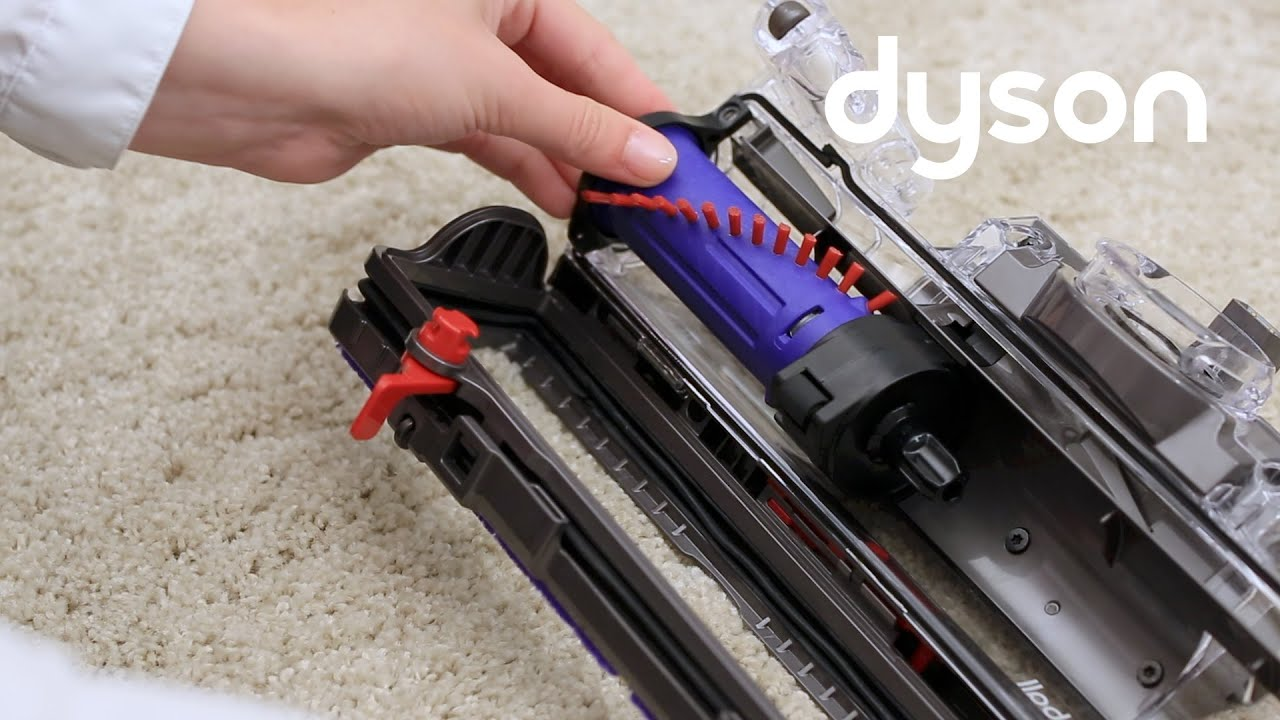 Dyson UP13 and UP16 - Replacing the brush bar (CA)
