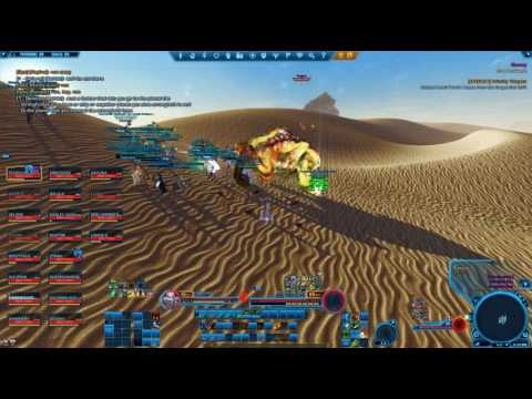 SWTOR Wardens of the Republic vs Trapjaw and Imperial defenses on Tatooine