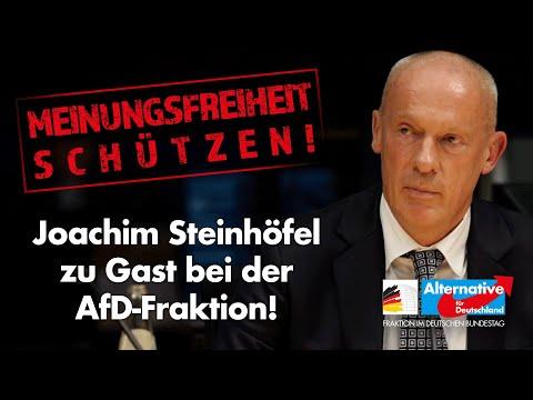 Joachim Steinhöfel: Linksextreme und Meinungsfreiheit im Internet! - AfD-Fraktion im Bundestag