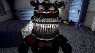 NIGHTMARE Y EL GRAN FINAL - Five Nights at Freddy's 4 Doom Mod (FNAF Game)