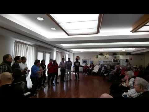 """An Outreach Program """"Serenade"""" @ Home for the Aged by YYC Filipino Chorale"""