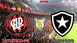 PES 2019 - Atlético-PR x Botafogo   Brasileirão 2018   Gameplay. PS4