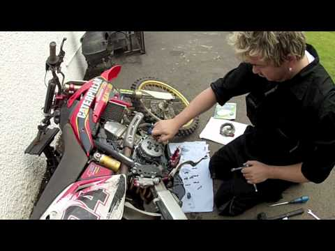 hqdefault how to install replace fit change clutch kit dirt bike honda  at arjmand.co