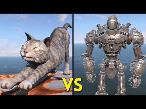 Fallout 4 - 250 Cats VS Liberty Prime - Battles #6