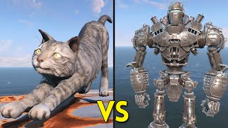 Fallout 4 - 250 Cats VS Liberty Prime - Battles #6