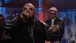 "CeeLo Green Sings ""Working Class Heroes, Work"""