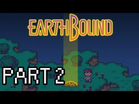 Earthbound Walkthrough - Part 2 - Welcome to Onett Town!