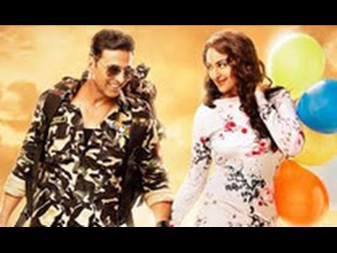 Checkout Akshay Kumar & Sonakshi in 'Holiday' Posters  Hindi Cinema Latest