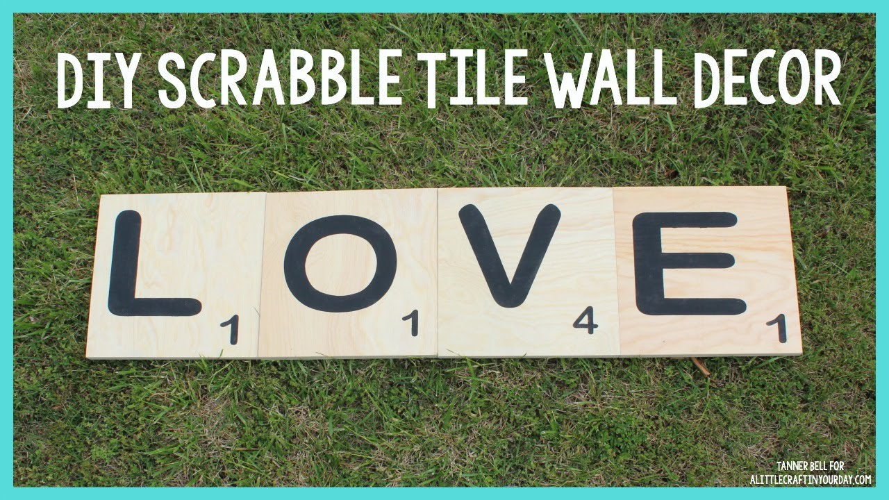 Diy scrabble tile wall decor mothers day diy gift idea youtube diy scrabble tile wall decor mothers day diy gift idea amipublicfo Images