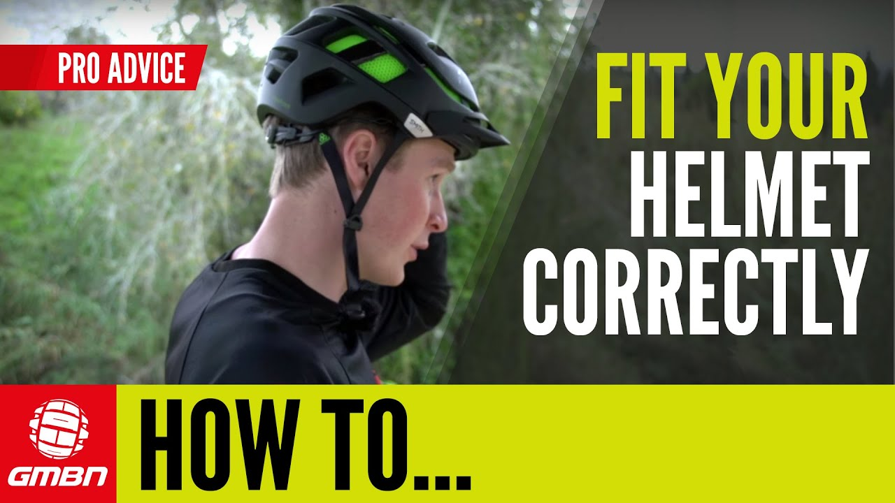 How To Fit Your Helmet Correctly Mountain Bike Skills Youtube Lixada