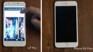 oukitel U7 Pro сравнение с iPhone 6
