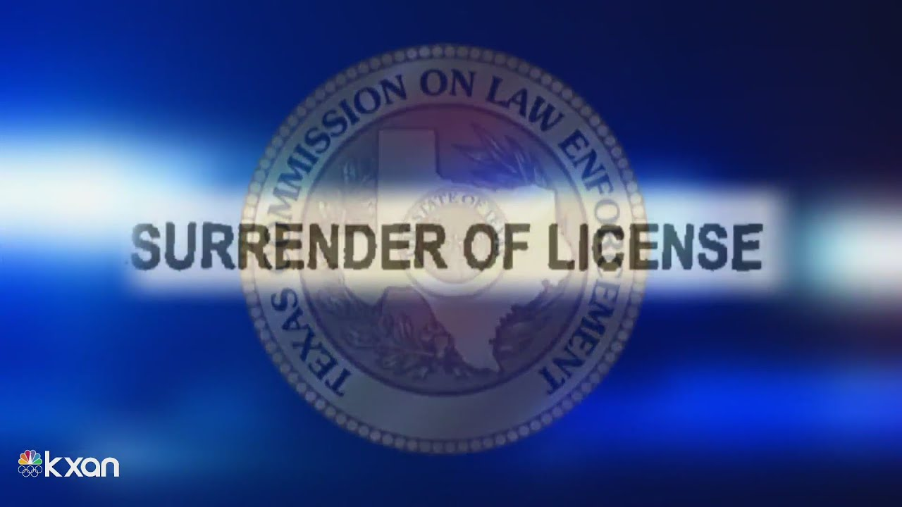 Texas police bargain their licenses to avoid prison. New bills could end those deals