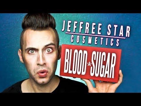 NO BULLSH*T Jeffree Star BLOOD SUGAR Palette Review!